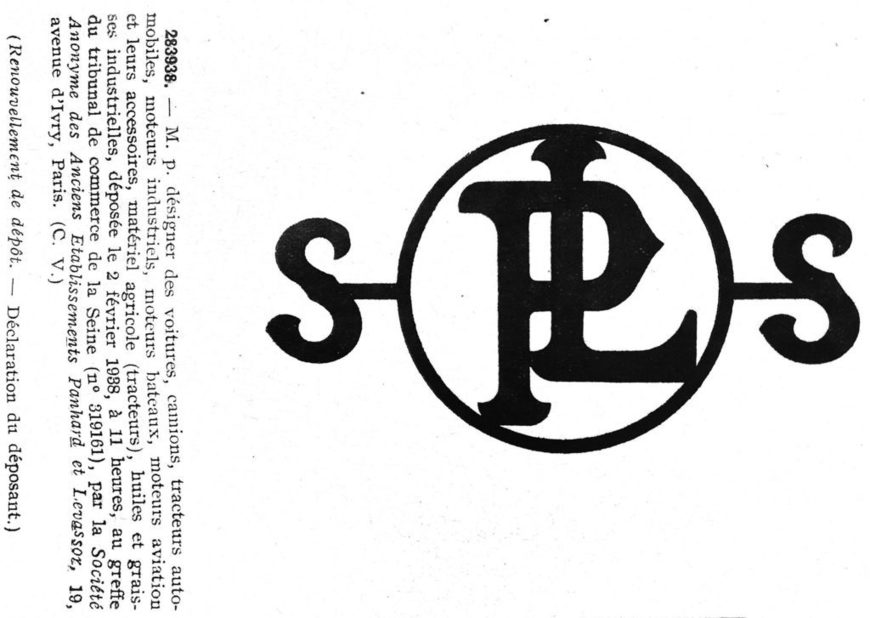 Typographie : marques constituées de monogrammes aux formes circulaires