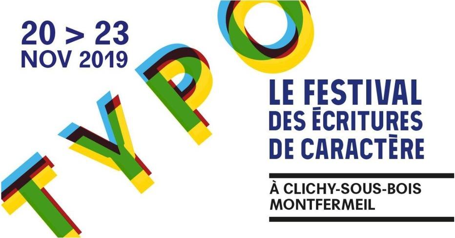 TYPO, le festival qui met à l'honneur des écritures de caractère