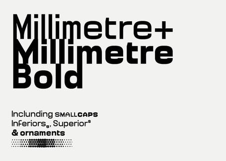 Jérémy Landes nous livre le process de sa dernière typographie Millimètre