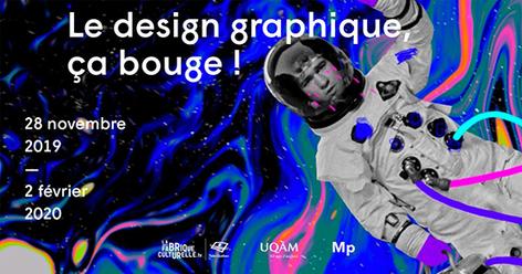 50 ans de créativité : présentation de l'exposition «Le design graphique, ça bouge!» –