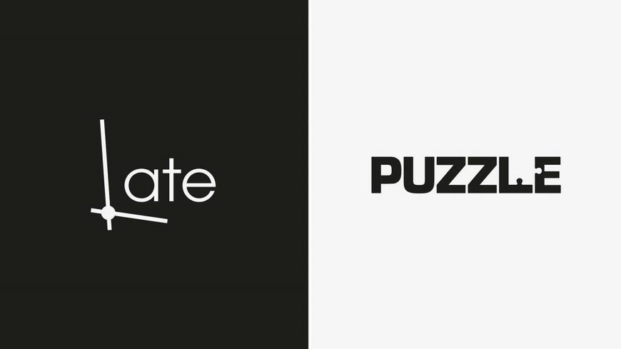Ces deux graphistes transforment des mots en logos créatifs pour le plaisir du cerveau