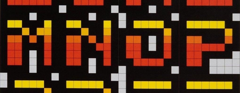 L'histoire visuelle de Toshi Omagari sur la typographie des jeux d'arcade des années 70, 80 et 90 –