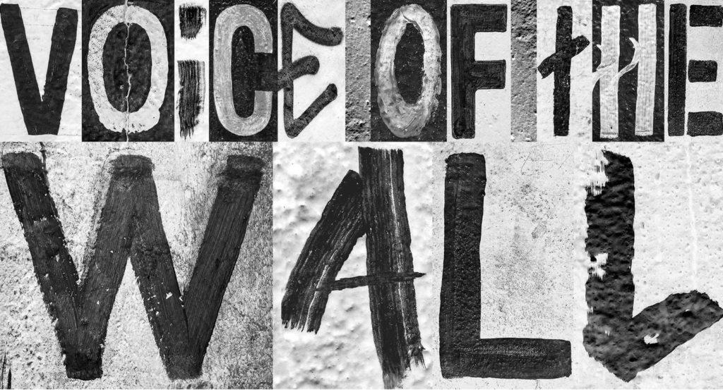 Heimat crée une typographie à partir des graffitis du mur de Berlin