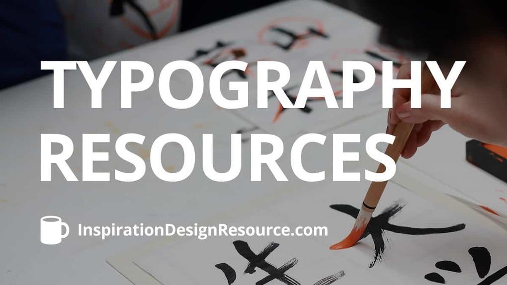 Typography Resources –