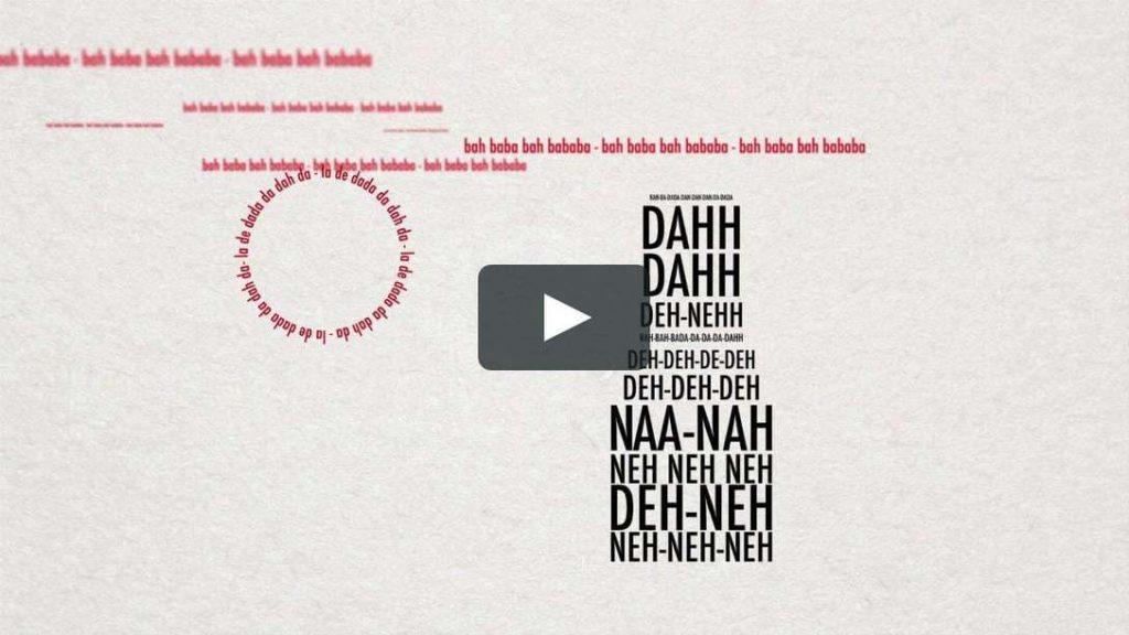 Sing Jan Swing – Kinetic Type on