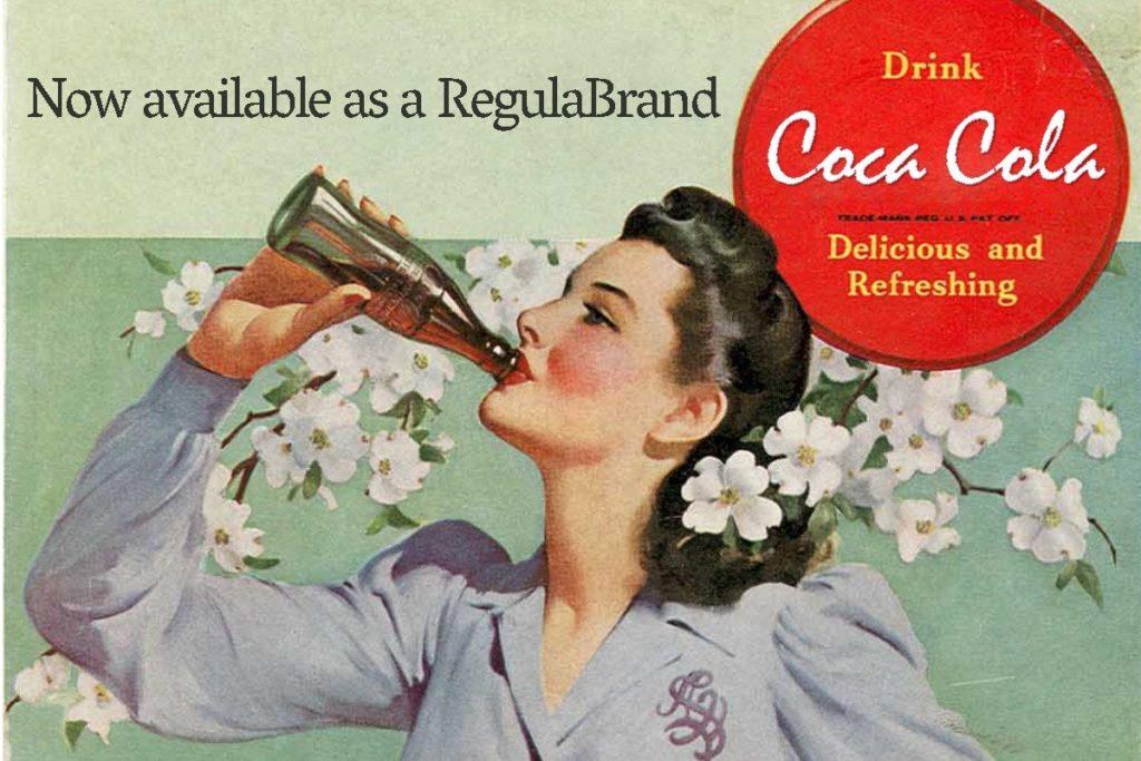 What if famous brands had regular fonts? Meet RegulaBrands!