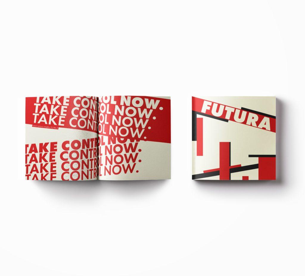Futura Type Specimen | Case Study – Zachary Paget