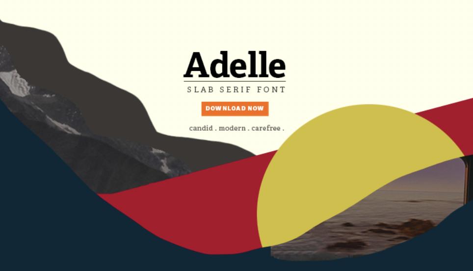Adelle Typeface – Lauren Eng
